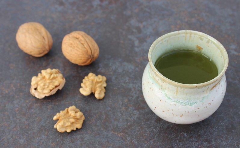Atemberaubend KATTEKER - FEINE KOST&WAREN - Feiner Grüner Tee - Aromatische Walnüsse @JU_86