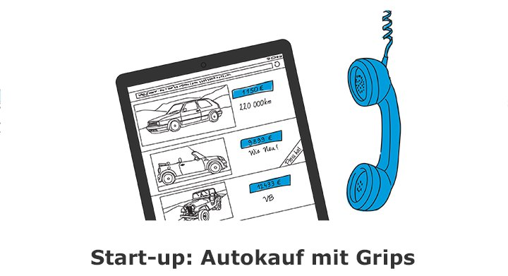 Start-up: Autokauf mit Grips